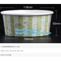 Best Food grade standard icecream paper cups for European and American market,custom logo printed disposable icecream scround wholesale