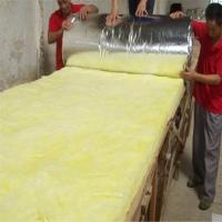 China Heat insulation glass wool blanket with Aluminium foil on sale