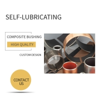 Automotive Air Conditioners Bushing | Metal-Polymer Bushings For Compressor Applications Assembly Clearance Range
