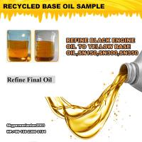Cheap Motor oil regeneration distillation equipment, used oil recycling plant, Oil for sale