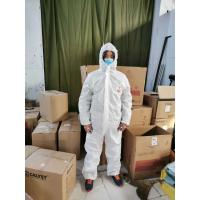 Best Personnel Protection Disposable Protective Suit Good Breathability wholesale