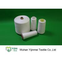 Best Z Twist 100 Spun Polyester Yarn On Cones / Polyester Sewing Thread HS Code 55092200 wholesale