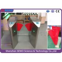 Buy cheap Glass Swing Automatic SEWO Flap Barrier Gate , IP54 speedgate systems product