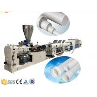China Drainage And Electric Conduit PVC Pipe Making Machine,  PVC Pipe Production Line on sale