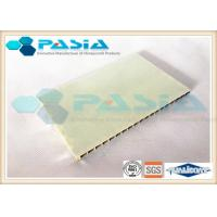 Best Compartment Wall Honeycomb Composite Panels FRP Surface Gel Coated / Edge Folded wholesale