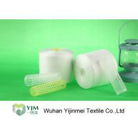 Best High Strength 40/2 Virgin Spun Polyester Yarn Raw White For Sewing Thread wholesale