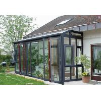 Best High Grade Grey Aluminum Sun Room Free Stand Four Season Simple Design wholesale