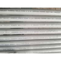 Best ASTM SB167 Inconel 600 Seamless Pipe 1 1/2''*SCH160*4000mm For Boiler wholesale