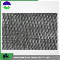 Buy cheap 80 / 80kN Black Dewatering Woven Monofilament Geotextile High - Tenacity product