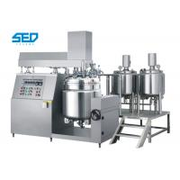 Best High Capacity Vacuum Emulsifying Machine Button Controlled For Ointment / Cream / Lotion wholesale