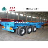 Best 20/40/45 FT Container Transport Trailer Superior Carrying Capacity With BPW Axles wholesale