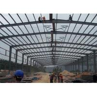 Waterproof Durable Steel Structure Warehouse Sound Insulation Energy Conserving