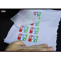 China Customized Hot and Cold Peel Matte Finish Heat Transfer PET Films and Papers with Great Performance and Appearance on sale