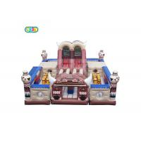 Best Capacity 32 Kids Inflatable Bounce House Combo Customized Size With Blower wholesale