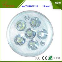 Best Replacing halogen or HID, 18 Watt Round LED Work Light, LED Headlight for Motorcycle Model wholesale