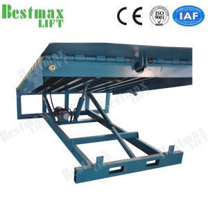 China Stationary Loading Dock Ramp Forklift Dock Leveler For Loading Cargo 15 Tons on sale