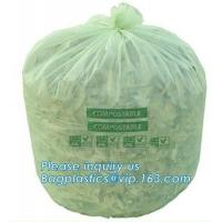 Best Kitchen Trash Collection Biodegradable Food Waste Bags  / Compostable Garbage Bag wholesale
