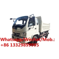 China new cheaper price foton brand diesel 3-4tons dump tipper truck for sale,foton stone and coal transported tipper truck on sale