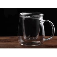 Best Environmental Glass Teapot With Infuser Removable Microwave ISO9001 Approved wholesale