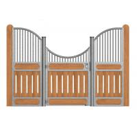 China Indoor Heavy Duty Metal Stall Doors, Portable Horse Stall KitsWith Horse Stall on sale