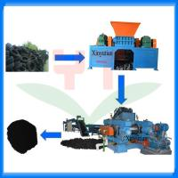 China Automatic waste tyre recycling machine/tire recycling production line on sale