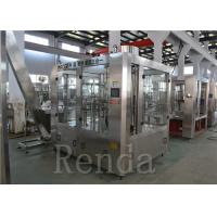 China 10000 BPH Juice Filling Machine Automatic Bottling Juice Equipment For Business 3 In 1 on sale
