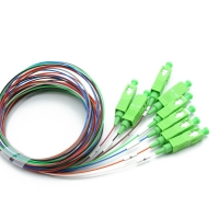 Buy cheap OMC 1*8 SC APC 900um G657A1 Fiber Optic PLC Splitter from wholesalers