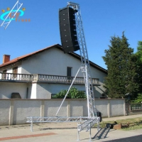 Best Sound Aluminum PA Line Array Truss Lifting Tower For Speaker wholesale