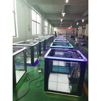 China Cube Shape Gift Game Machine , Toy Grabber Claw Machine For Entertainment Cente on sale