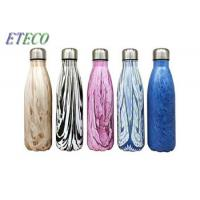 China 350ml - 1000ml Stainless Steel Drink Bottles Vacuum Flask Water Bottle For Travel on sale