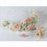 Best Jelly Rose A Series of Bridal Headwear with Limpid Color, Used for Wedding Gown and Dress wholesale
