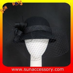 Best 2324 Sun Accessory customized fashion winter wool felt British style  hats  ,women hats and caps wholesaling wholesale