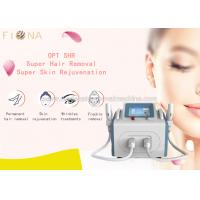 Best CE permanent ICE SSR + ICE SHR hair removal acne removal and facing lifting NO pain wholesale