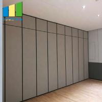 Best Hotel Hanging Acoustic Room Dividers Restaurant Folding Sliding Partition Wall System wholesale