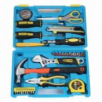Best 31-piece Household Tool Kit/Set with Adjustable Wrench and Combination Pliers  wholesale