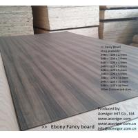 Best Ebony Fancy Plywood 1220 x 2440mm wholesale