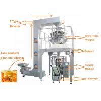 China Easy Operation Multi Heads Weigher Packing Machine / Food Packaging Equipment on sale