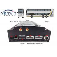 China 8 channel car security dvr recorder Built-In 3G / 4G / WIFI / G-Sensor DVR System for Bus on sale