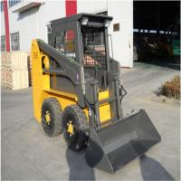 Best 70Hp Small Skid Steer Loader Equipment With Front End Loader 2100Kg Lifting Force wholesale