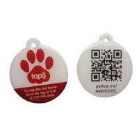 China Eco Friendly NFC RFID Epoxy Tag With QR Code Printing Customized Size on sale