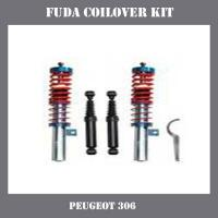China High quality ajustable Coilover Suspension Kit for Peugeot 306 on sale