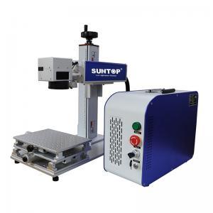 Best Cnc Drilling Portable Laser Engraving Machine On Brass Steel Sheet 50 Watt wholesale