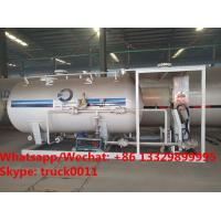 Best factory sale best price 6tons skid lpg gas tank with lpg gas dispenser for automobiles, skid lpg gas refilling station wholesale
