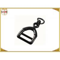 Best Zinc Alloy Metal Shoe Buckles Clips With D Ring Custom Black Color wholesale