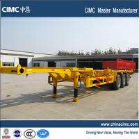 China cimc tri-axle 40' gooseneck container chassis for sale on sale