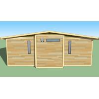 Buy cheap Eco Friendly Expandable Container House Prefabricated Frame Ready Made Container from wholesalers
