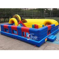 China Outdoor kid N adult sea world giant climbing inflatable fun city with tunnel slide for children and adults on sale
