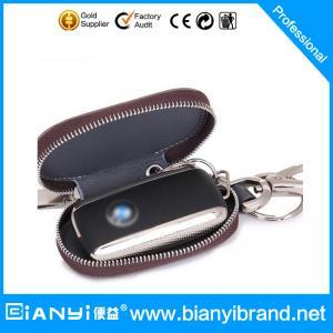 Best Promotional Custom leather key holder/car key bag wholesale