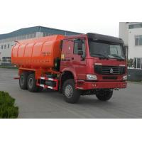 Best Garbage Dump Truck With Self - Discharging Cargo Box;6x4,22 m³,Red Color,336hp wholesale