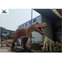 China Giant Animatronic Dinosaurs Playground Decoration Mechanical Simulation Dinosaur on sale